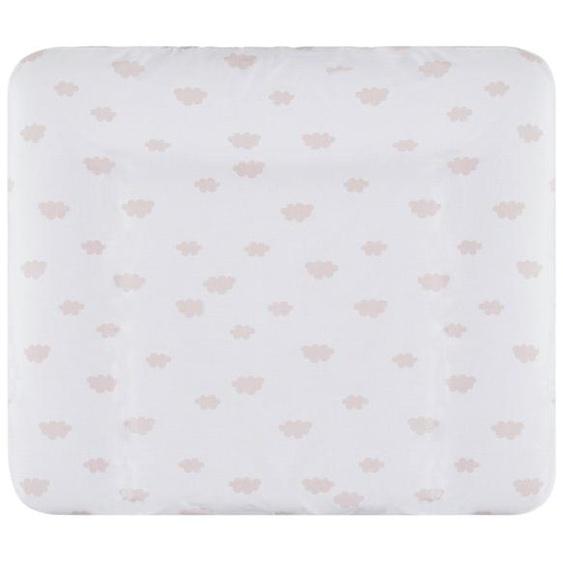 Uups Wickelauflagenbezug  Wolken Rosa ¦ 100% Baumwolle