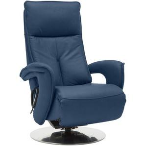 Valdera: Sessel, Blau, B/H/T 77 110 87