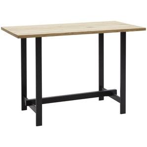 Valnatura: Tisch, Eiche, Eiche, Schwarz, B/H/T 70 92 140