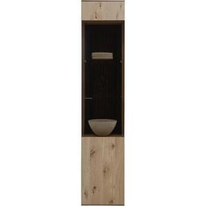 Valnatura: Vitrine, Holz, Glas,Kerneiche, Eiche, B/H/T 43 205 44