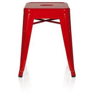VANTAGGIO - Arbeitsstuhl Arbeitshocker Rot