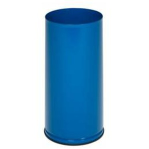 VAR Schirmständer, Höhe 610 mm - Vollblech, verzinkt - enzianblau RAL 5010