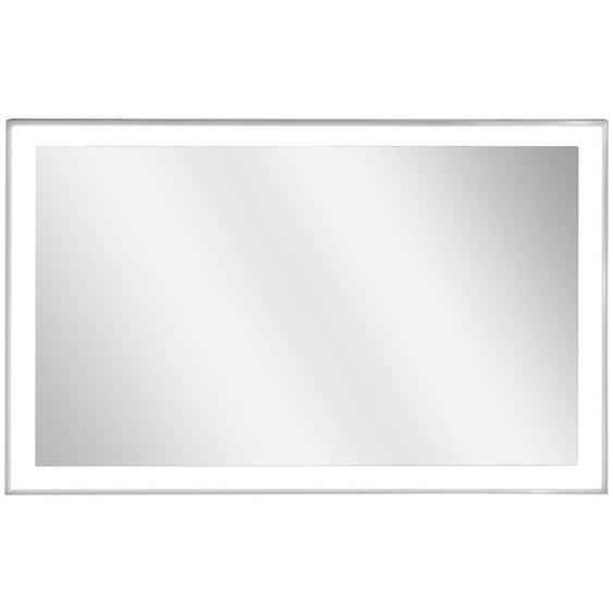Vasner Infrarotheizung »Zipris S LED 500«, 500 W, Spiegelheizung mit Chrom-Rahmen und Licht