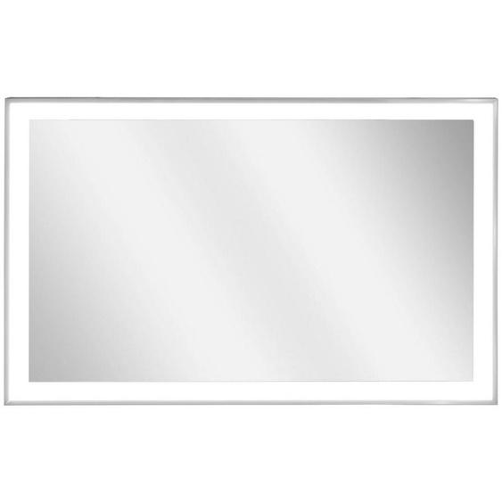 Vasner Infrarotheizung »Zipris S LED 700«, 700 W, Spiegelheizung mit Chrom-Rahmen und Licht