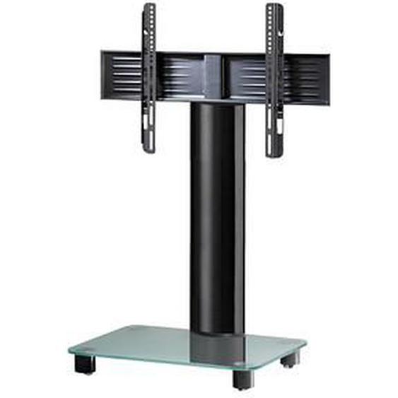 VCM my media TV-Ständer mit Rollen Tosal schwarz, mattglas