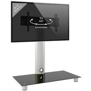 VCM my media TV-Ständer Standol silber, schwarzglas