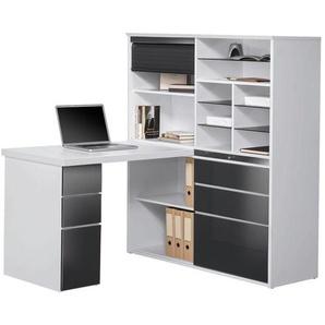 Venda: Tisch, Grau, Weiß, B/H/T 126,6 150 187