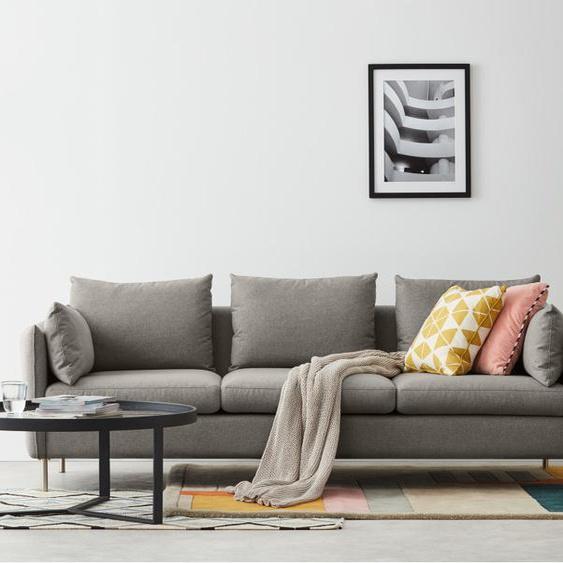 Vento 3-Sitzer Sofa, Manhattangrau