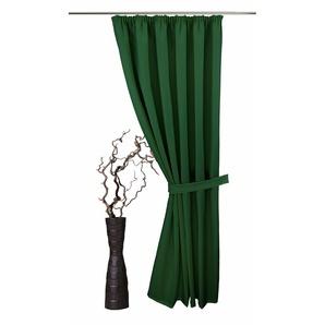 VHG Raffhalter Gerti, in Leinenoptik B/H: 70 cm x 5 grün Zubehör für Gardinen Vorhänge