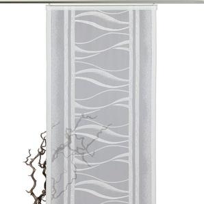 VHG Schiebegardine Mila, Mila,VHG 245 cm, Paneelwagen, 60 cm weiß Wohnzimmergardinen Gardinen nach Räumen Vorhänge