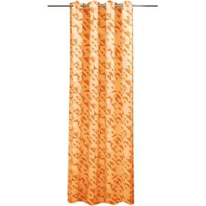 Vhg Vorhang »Carolina«, H/B 245/135 cm, orange