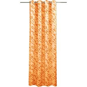 Vhg Vorhang »Carolina«, H/B 285/135 cm, orange