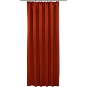 Vhg Vorhang »Leon«, H/B 215/145 cm, rot