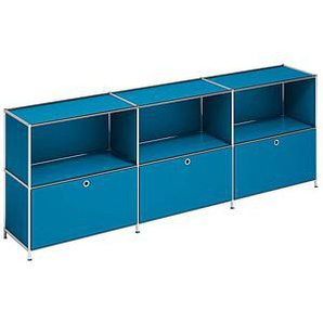 viasit   System4 Sideboard blau/blau 1 Fachboden