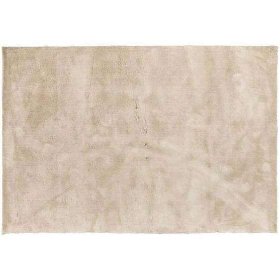 Victoria - Teppich, Viskose Optik, 170*240 cm, Beige