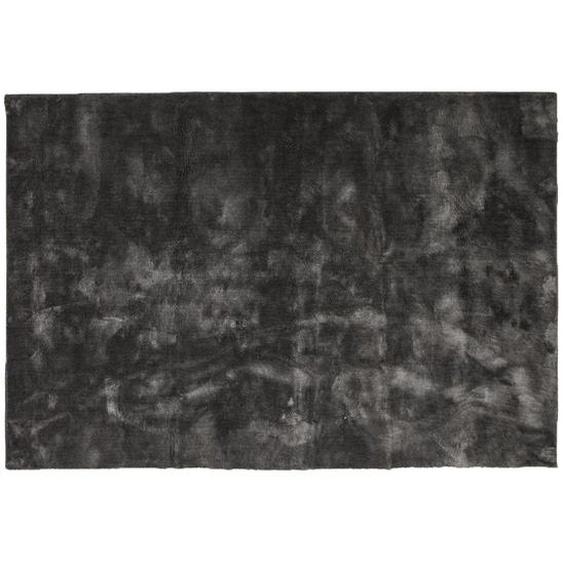 Victoria - Teppich, Viskose Optik, 250*350 cm - Dunkelgrau