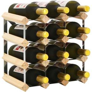 Vidaxl Kiefer Massiv Weinregal Flaschenregal Flaschenständer Mehrere