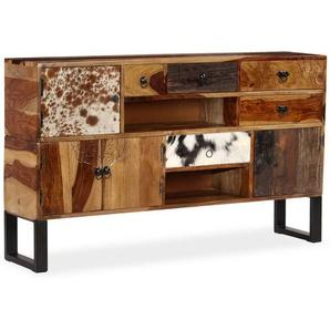 Sideboard Massivholz 140 x 30 x 80 cm - VIDAXL