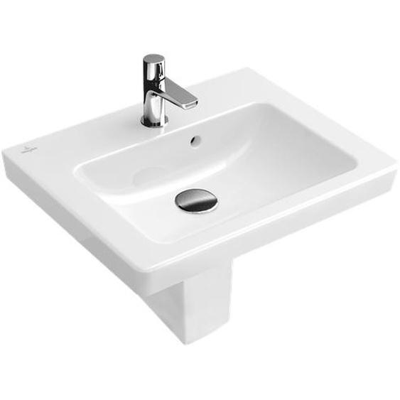Villeroy & Boch Handwaschbecken Subway 2.0 45 cm, weiß