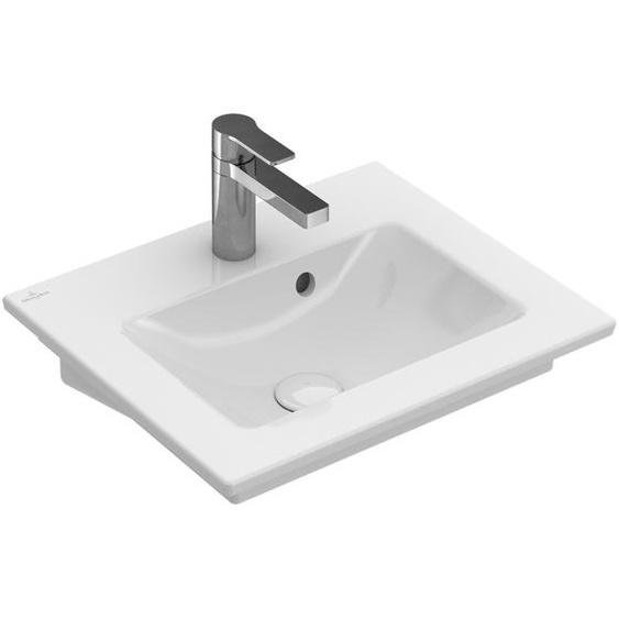 Villeroy & Boch Handwaschbecken Venticello porzellan, weiß-alpin