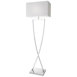 Villeroy & Boch Stehlampe, Weiß, Alu, Eisen, Stahl & Metall