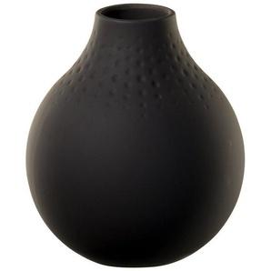 Villeroy & Boch Tischvase »Manufacture Collier noir«, strukturiert