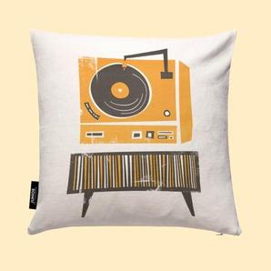 Vinyl Junkie- Kissen
