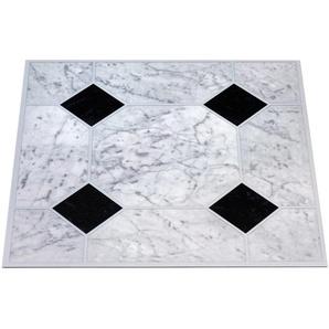 PVC-Boden »Vinyl-Fliesen, 2,0 mm, 50 Fliesen«, selbstklebend