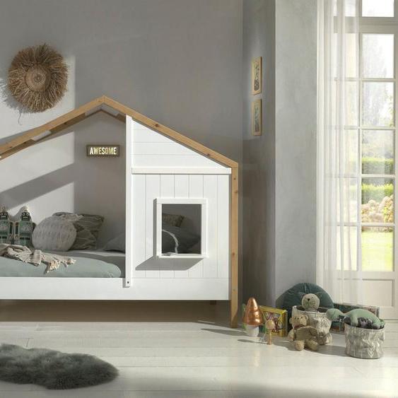 Vipack Hausbett »Babs«, mit Lattenrost, wahlweise Bettschublade