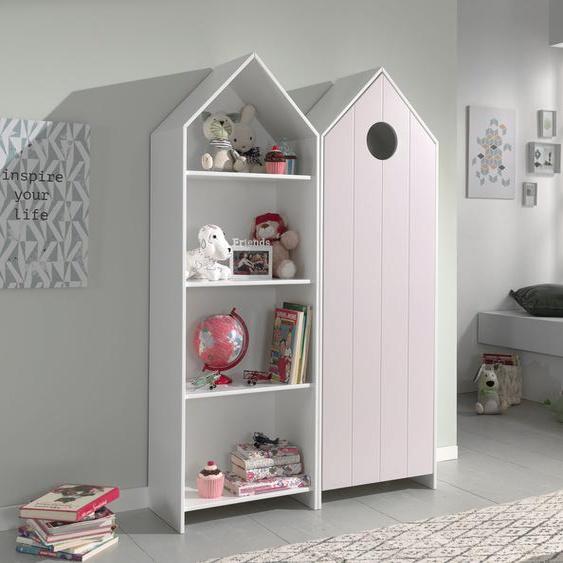 Vipack Jugendzimmer-Set Casami, (Set, 2 tlg.) Einheitsgröße rosa Kinder Komplett-Kinderzimmer Kindermöbel Schlafzimmermöbel-Sets
