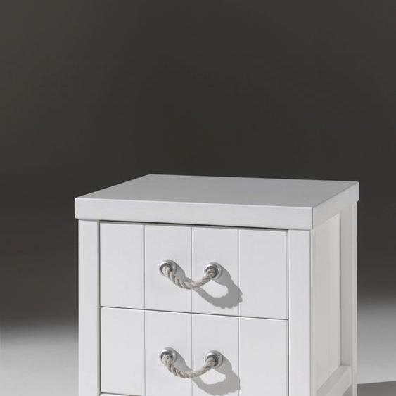 Vipack Nachtkommode Lewis 50x46x56 cm weiß Kinder Jugendnachttische Jugendmöbel Kindermöbel Sideboards