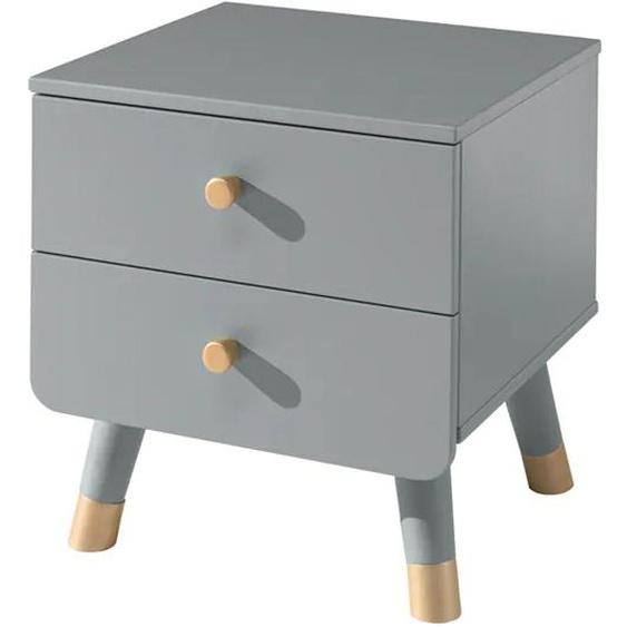 Vipack Nachttisch Billy Gestell: Holzwerkstoff grau Kinder Kindernachttische Kindermöbel Tisch