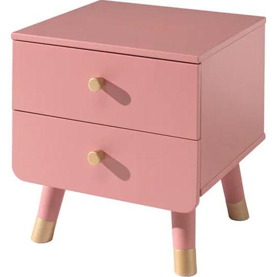 Vipack Nachttisch Billy Gestell: Holzwerkstoff rosa Kinder Kindernachttische Kindermöbel Tisch