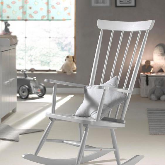 Vipack Schaukelstuhl Rocky Einheitsgröße grau Schaukelstühle Stühle Sitzbänke