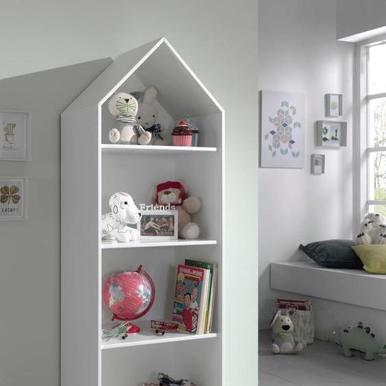 Vipack Standregal Casami 57,6x37x171,3 cm weiß Kinder Kinderregale Kindermöbel Regale