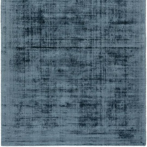 Viskoseteppich Nova Blau 160x230 cm