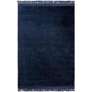 Viskoseteppich Pearl Blau 140x200 cm