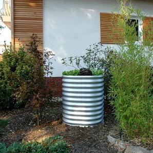 Vitavia Hochbeet »858 rund«, geeignet für Garten, witterungsbeständig, gewellt