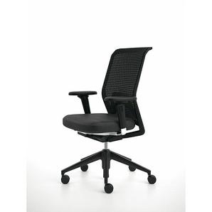 Vitra Bürodrehstuhl ID Mesh schwarz, Designer Antonio Citterio, 97-109.5x59x66-79.5 cm