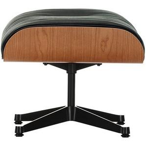 Vitra Ottoman schwarz, Designer Charles & Ray Eames, 42x63x56 cm