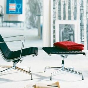 Vitra Sessel Alu-Chair schwarz, Designer Charles & Ray Eames, 98.5x65x78 cm