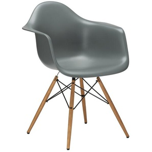 Vitra Stuhl Eames Plastic Armchair DAW 83x63x59 cm, Gestell:  eichefarbig, Designer Charles & Ray Eames