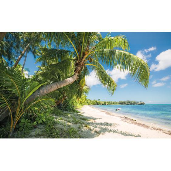 Vlies Fototapete Fiji Dreams Boat