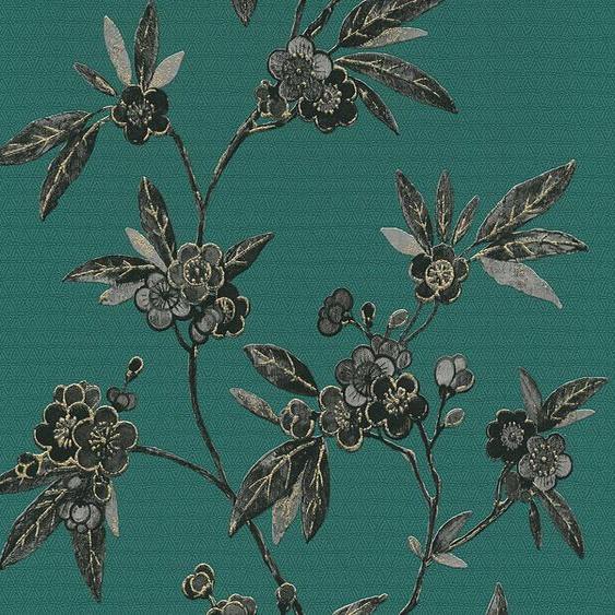 Vliestapete »Asian Fusion«, aufgeschäumt, floral, asiatisch
