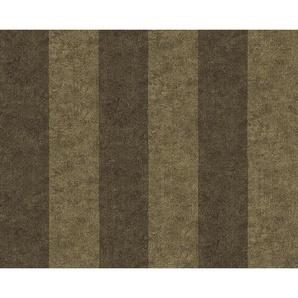 : Vliestapete, Braun, Sand, Hellbraun, B/H 1005 70