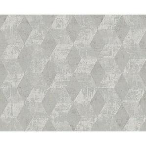 XXXL: Vliestapete, Grau, B/H 53 1005