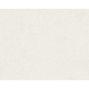 : Vliestapete, Weiß, Perlmutt, B/H 70 1005