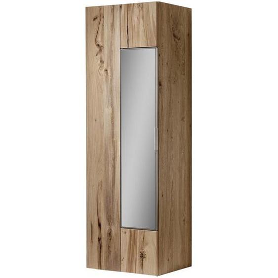 Voglauer Garderobenschrank Altholz, Eiche furniert, mehrschichtige Massivholzplatte (Tischlerplatte) Braun , Holz , 2 Fächer , 64x194x42.5 cm