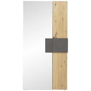 Voglauer: Tisch, Holz,Wildeiche, Anthrazit, Eiche, B/H/T 97,2 194 43,5