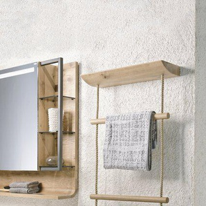 Voglauer Handtuchhalter, Eiche, Holz